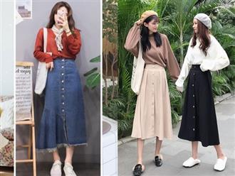 4 mẫu váy đẹp Hàn Quốc giúp nàng tự tin về phong cách