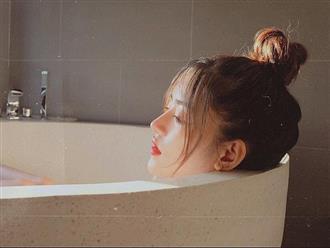 4 thói quen xấu khi tắm nếu thường xuyên tiếp diễn có thể khiến da bị nhăn nheo, khô xỉn