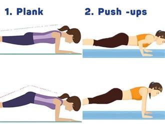 5 bài tập cực hiệu quả tại nhà giúp cơ thể khỏe mạnh, gọn gàng mùa COVID-19