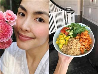 5 bí mật làm nên làn da không tuổi của Hà Tăng: Dùng dầu dưỡng, chọn đúng serum và quan trọng là chế độ ăn