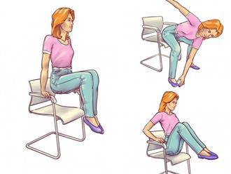 5 động tác chỉ mất 5 phút giúp loại bỏ mỡ bụng hiệu quả, phụ nữ ngồi nhiều càng nên tập