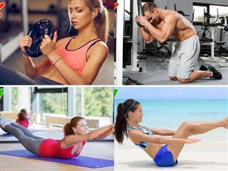 5 động tác có thể khiến bạn béo hơn sau khi tập