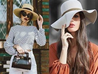 5 kiểu mũ nhất định phải có trong tủ đồ để ngày hè thêm rực rỡ