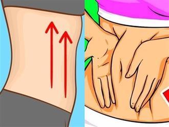6 bài massage giảm mỡ bụng cho người ít vận động