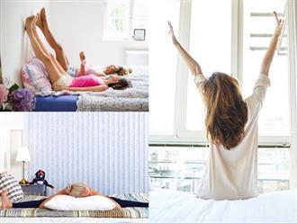 6 bài tập tại nhà cực đơn giản giúp bạn ngủ ngon tới sáng, trẻ đẹp như gái đôi mươi