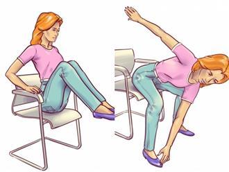 6 bài tập với ghế cho bụng phẳng lì dù bạn lười mấy cũng thành công