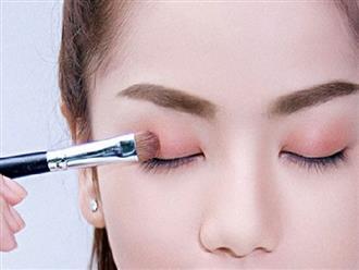 6 bước trang điểm mắt đơn giản giúp phái đẹp ăn gian tuổi hiệu quả