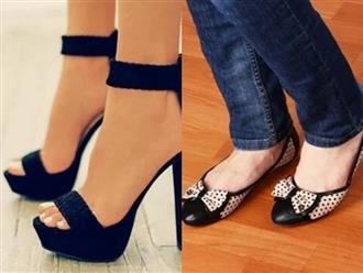 6 loại giày phổ biến tuy rất đẹp nhưng gây hại cho sức khỏe của bạn
