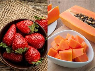 6 loại mặt nạ trái cây dưỡng trắng da, ngăn ngừa lão hóa cực kỳ hiệu quả