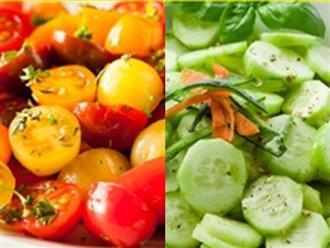 6 sai lầm khi kết hợp đồ ăn khiến sức khỏe tổn hại
