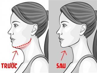 7 cách giảm mỡ mặt và loại bỏ hai cằm hiệu quả không cần phẫu thuật