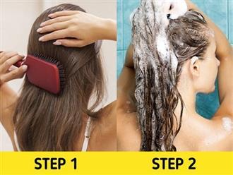 7 lỗi chải đầu khiến tóc nhanh hư tổn
