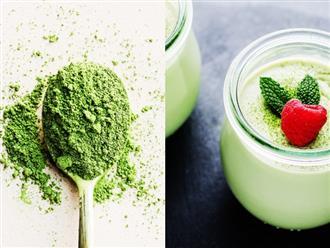 7 lý do khiến bạn nên bổ sung trà xanh matcha thường xuyên để làm đẹp cơ thể