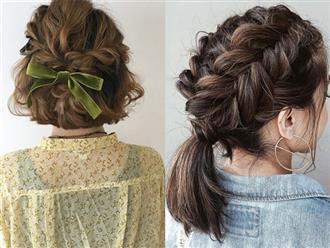 8 cách tạo kiểu tết cho tóc ngắn vừa điệu đà vừa mát mẻ