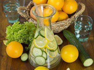 8 công thức detox giảm cân, thanh lọc cơ thể cấp tốc sau kỳ nghỉ lễ