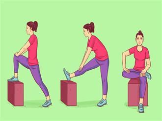 8 động tác đơn giản giúp đẩy lùi lão hóa từ bên trong cơ thể