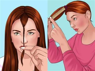 8 mẹo tự cắt tóc tại nhà chuẩn như ngoài salon