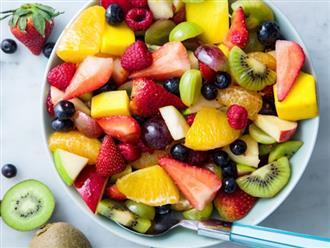 9 loại hoa quả chứa ít đường, hỗ trợ giảm cân hiệu quả