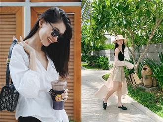 Á hậu Thùy Dung kín tiếng quá nên suýt nữa chị em đã bỏ lỡ một hình mẫu mặc đẹp lý tưởng