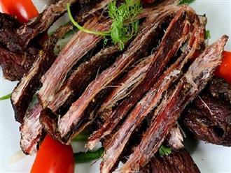 Ai thích ăn trâu gác bếp, chân gà ngâm... nhất định phải biết điều này để tránh ung thư