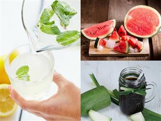 Ăn ngay những thực phẩm này để bảo vệ sức khỏe ngày nắng nóng, giảm thiểu nguy cơ đau đầu, chóng mặt