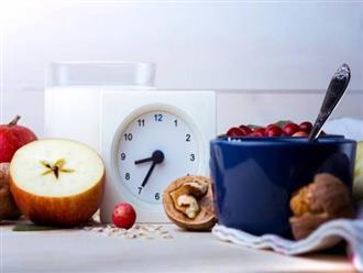 Ăn uống theo nhịp sinh học tốt trong việc ăn kiêng giảm cân