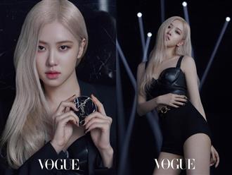 Ảnh tạp chí mới của Rosé (BLACKPINK) thành chủ đề nóng: Chỉ 3 tấm show trọn combo mặt xinh, thần thái đỉnh, body sexy hút mắt