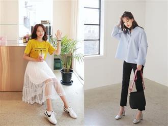 Áp dụng 5 kiểu trang phục thông dụng, nàng lười mix đồ cũng sang lên ngay tắp lự
