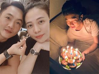 Bà xã Cường Đô la bí mật mừng sinh nhật chồng lúc nửa đêm nhưng gây chú ý nhất lại là món quà đầy bá đạo này