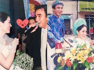 Bà xã MC Quyền Linh bồi hồi chia sẻ khoảnh khắc đáng nhớ nhất trong lễ cưới cách đây 14 năm