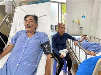 Bà xã Thương Tín đã có mặt tại bệnh viện, mẹ vợ nghẹn ngào tiết lộ: 'Ổng tỉnh lại là đòi về vì sợ tốn tiền'