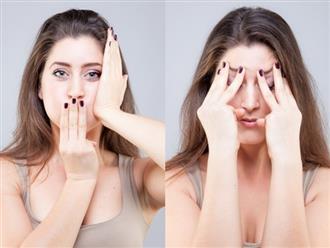 Bài tập 9 bước giúp loại bỏ mỡ mặt và chống nếp nhăn