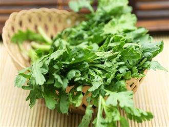 Bài thuốc từ rau cải cúc giúp trị bách bệnh, ai không biết thì phí cả đời