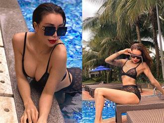 Bạn thân Ngọc Trinh diện bikini ren táo bạo khoe dáng nóng bỏng nhưng dân tình chỉ mải dán mắt vào bộ phận này