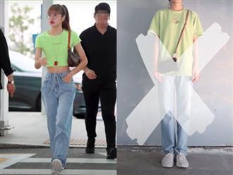 """""""Bắt bài"""" chiêu mix đồ kéo chân, bóp eo đỉnh cao mà Lisa vẫn luôn áp dụng trong mọi set đồ street style"""