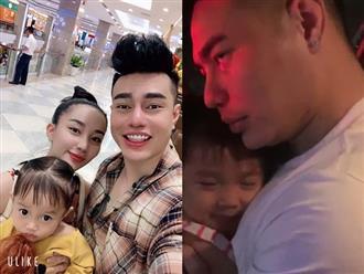 """Bật cười trước pha bẻ lái của con gái Lê Dương Bảo Lâm khi đang tâm tình với bố: """"Ngực ba bự, ngực mẹ nhỏ xíu!"""""""