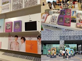 """Bày bán album của BTS, WANNA ONE, TWICE trong cửa hàng, SM bị CĐM chỉ trích """"chiêu trò PR rẻ tiền"""""""