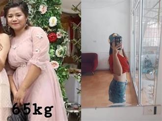 Bị chê béo như mẹ sề, thiếu nữ Hà Nội giảm 11kg sau 4 tháng