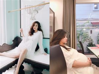Bị chụp lén, Đông Nhi lộ nhan sắc thật ở tháng cuối thai kỳ, có lộng lẫy như ảnh photoshop kỹ càng?