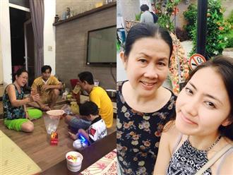 Bị đồn 'cơm không lành, canh không ngọt' với con gái, mẹ Ngọc Lan bất ngờ lên tiếng