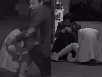 Bị hù dọa mà Dương Mịch sống chết ngồi 1 chỗ, Đặng Luân kéo lê đồng nghiệp cả mét khiến netizen dậy sóng