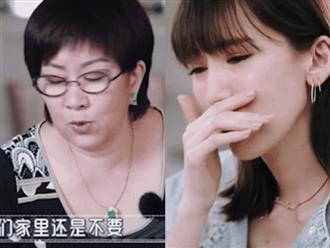 Bị mẹ chồng soi xét chuyện quần áo, nội trợ, vợ Lâm Chí Dĩnh bật khóc nức nở khi được mẹ ruột gọi điện hỏi thăm