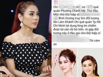 Bị tố chiếm đoạt 150 triệu đồng, Lâm Khánh Chi bức xúc lên tiếng vì bị truy lùng khắp nơi