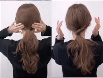 Biến tấu 3 cách buộc tóc đuôi ngựa siêu nhanh và dễ, học ngay để vừa chống nóng lại xinh xắn tuyệt đối