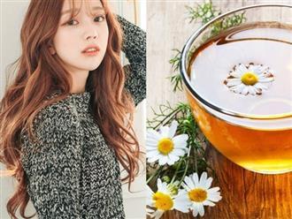 Biết được những tác dụng tuyệt vời này của trà hoa cúc, bạn sẽ uống mỗi ngày để da đẹp, dáng thon