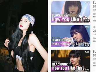 """Biết rõ sức hút quốc tế của Lisa, fancam toàn view khủng nên nhà đài """"ưu ái"""" cho chiếm trọn ảnh bìa video các sân khấu của BLACKPINK?"""