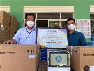 Bố chồng Hà Tăng nhận 'cơn mưa' lời khen khi chi hẳn 1,4 tỷ mua thiết bị hỗ trợ chữa trị Covid-19 cho Đà Nẵng