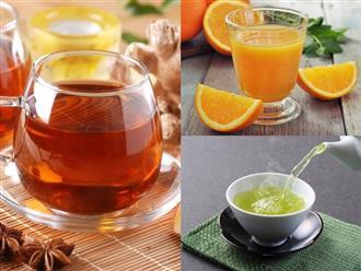 Bổ sung ngay 5 loại thức uống thơm ngon này để phòng ngừa cảm cúm đang vào mùa