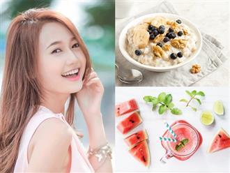 Bổ sung ngay những thực phẩm này vào bữa ăn sáng để chống nắng tự nhiên và bảo vệ làn da từ sâu bên trong