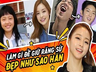 Bọc răng sứ giống sao Hàn: Đẹp thì đẹp thật nhưng bạn chắc chắn phải tuân thủ các nguyên tắc này